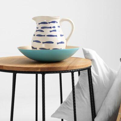 stolik kawowy flun czarny dab TBFLU