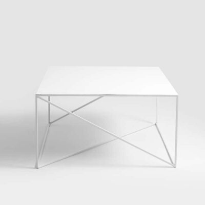 stol kawowy memo  bialy TBMEM