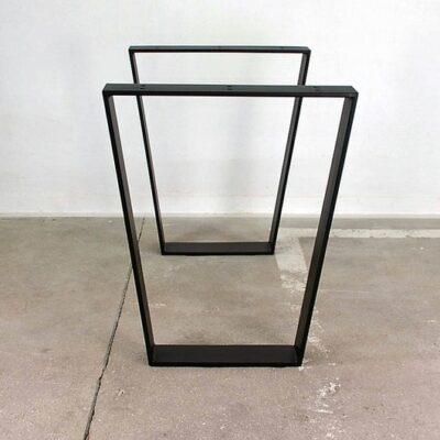 Tischgestell V foermig schwarz