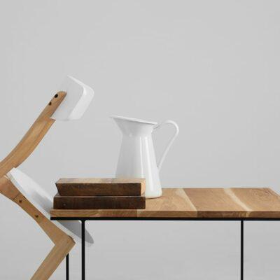 stol kawowy walt  dab czarny TBWALTW