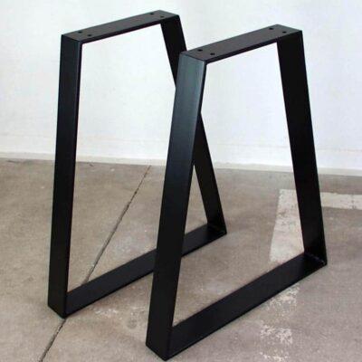 Tischgestell A foermig schwarz