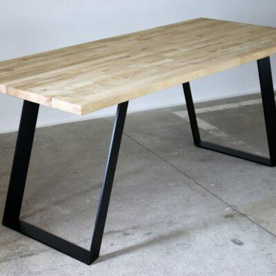 Tischgestell Lamelli schwarz