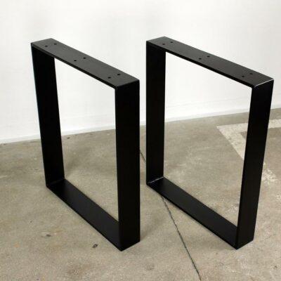 Tischgestell Winkel schwarz