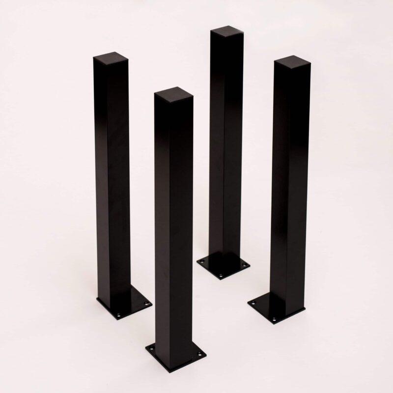 tischbeine  stueck schwarz