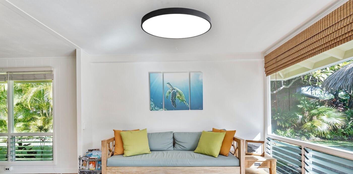 Wohnzimmer LED Deckenleuchte für Tischchen