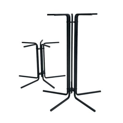 Tischgestell CIRC 42 und 72 cm hoch schwarz