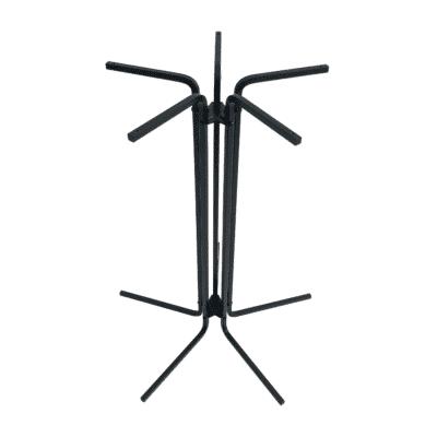 Tischgestell CIRC 72 cm hoch schwarz von oben