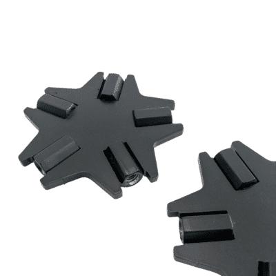 Tischgestell CIRC schwarzer Verbinder