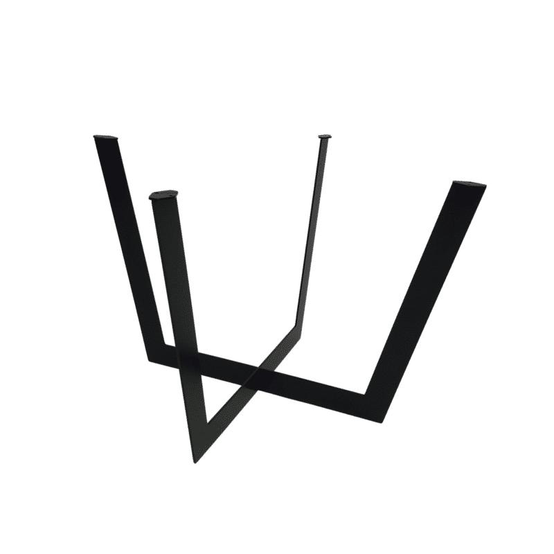 Tischgestell Salto schwarz