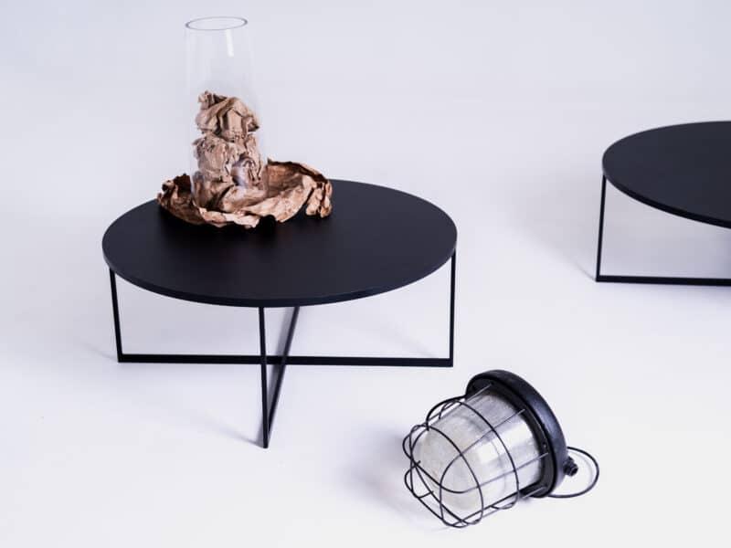 Couchtisch IXO 80 schwarz