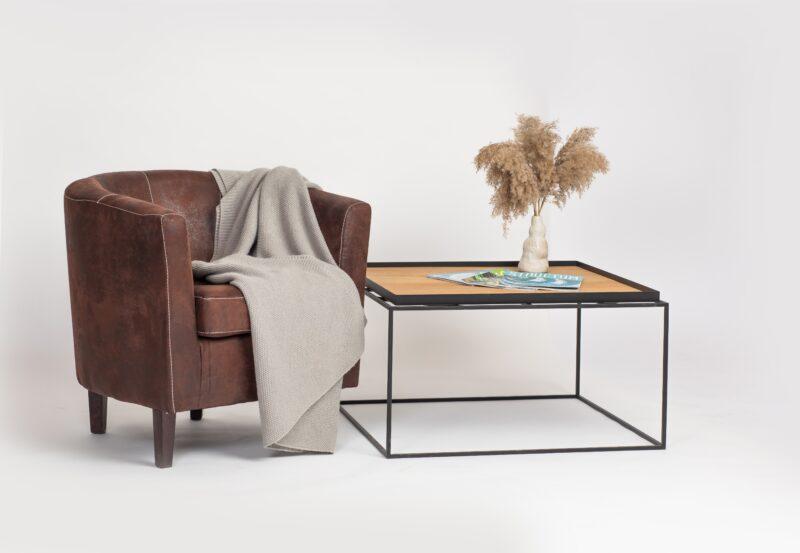 Kubi Tray Tisch mit Sessel 2