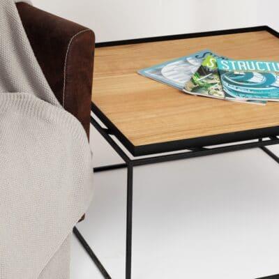 Kubi Tray Tisch mit Sessel