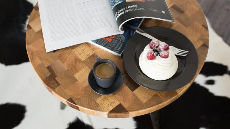 Couchtisch Venus Kaffee und Kuchen